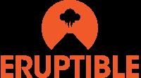 Eruptible logo