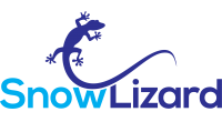 SnowLizard logo