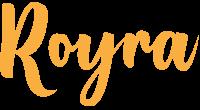 Royra logo