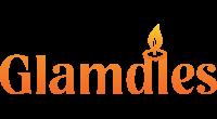Glamdles logo