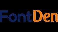 FontDen logo