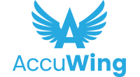 AccuWing logo