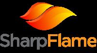 SharpFlame logo